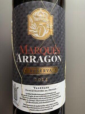 Rotwein   Marqués de Arragón   Reserva   2014   Valdepeñas D.O., La Mancha, Span