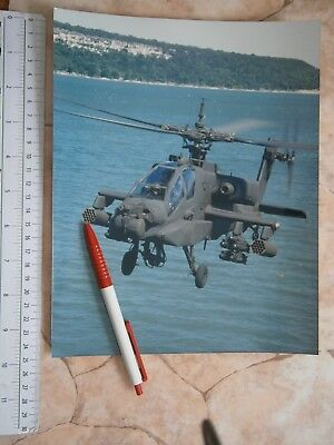 Ah 64D Longbow Apache Anti Armor Helicopter Photo Picture Mcdonnell Douglas Corp