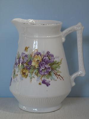 Antik Milchkännchen Blumen romantisch Jugendstil Porzellan Shabby Sahnegießer