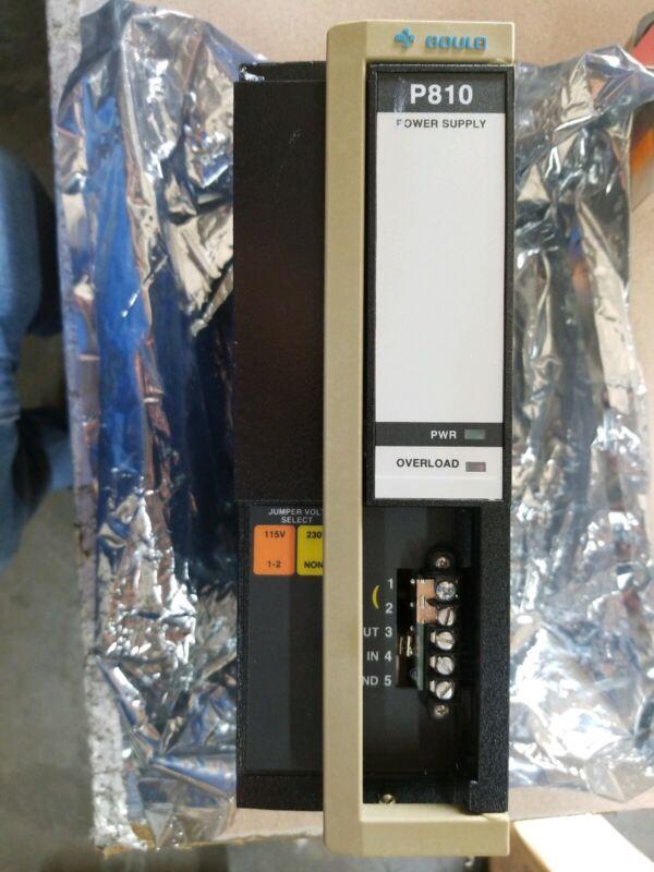 GOULD AS-P810-000 POWER SUPPLY (1-YR WARRANTY)