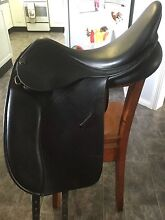 Black Trainers dressage saddle Dungog Dungog Area Preview