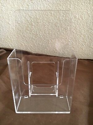 Lot Of 34 Acrylic Literature Brochure Holder For 4x9 Printed Material