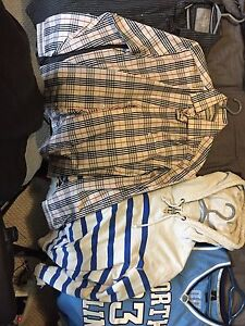 Mens Clothing (Dress shirts/jeans/sweaters/jerseys)