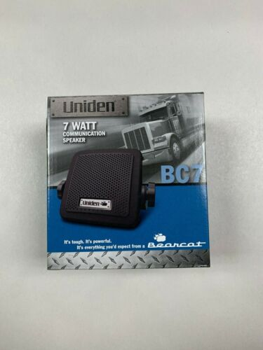 Uniden BC7 Bearcat External CB Radio/Scanner Speaker