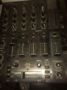 behringer djx750 4 channel mixer