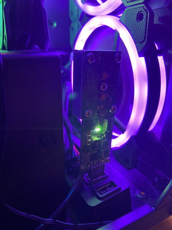 24 Hour BTC Lottery Miner-Turn $2 Into $60k(6.25BTC)(5xOC)500MHz Up To 115Gh/s