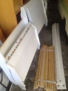 Two White Children's Single Sleigh Beds Launceston Launceston Area Preview