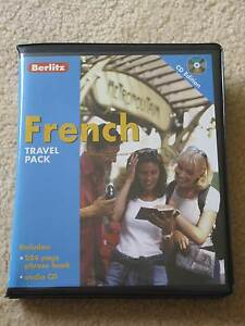 Berlitz French Travel Pack (Phrase Book and CD) - FREE DELIVERY Hurstville Hurstville Area Preview