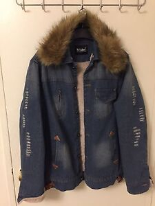 Blue and denim jeans jacket brand new without tag