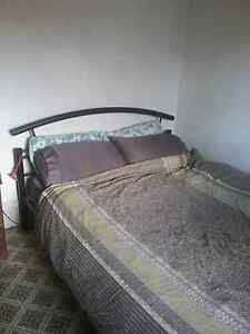 Queen size bed frame (with optional mattress) avail.  Sep 3rd Carlton North Melbourne City Preview