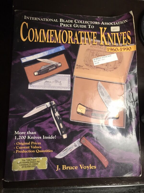 Voyles Commemorative Knives 1960-1990 Knife Book Collectors Guide ld