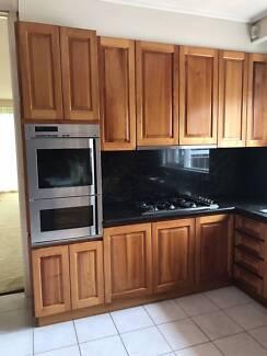Kitchen Timber Blackwood Doors, Panels, Drawers in EUC