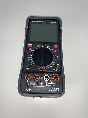 Cen-tech Automotive Multimeter - No Probes