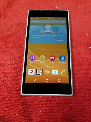 Sony Xperia Z1 16GB White C6902 (Unlocked) GSM World Phone GD508