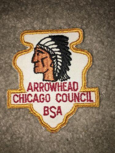 Boy Scout BSA Chicago Illinois Shape Arrowhead District DP CP Council Patch