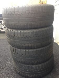 4-205/55R16 Michelin Winter tires