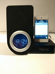 iHome iP41 Rotating Alarm Clock for iPod and iPhone Back up Battery