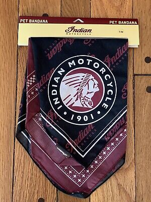 Indian Motorcycle Pet Bandana (S / M)