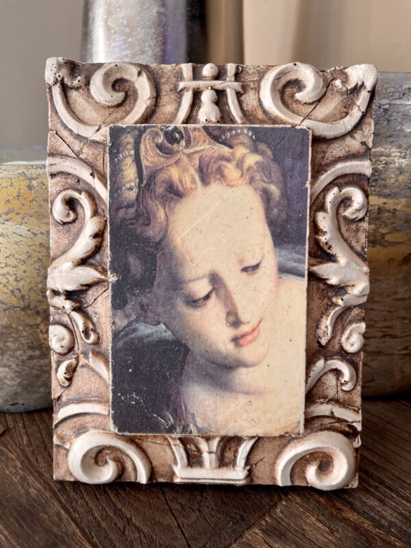 Sid Dickens 1999 Memory block I07 Mother and Child w/ Border RETIRED TILE