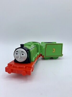 Thomas & Friends Trackmaster motorized train engine Henry #3 tender car 2013