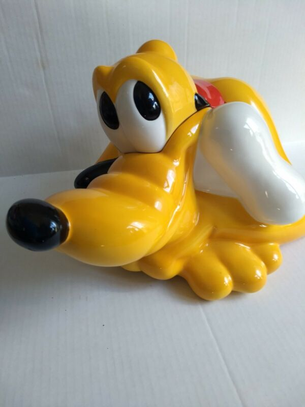 Treasure Craft Disney Pluto Cookie Jar