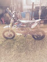 2015 Atomik 160cc Dirt Bike Mill Park Whittlesea Area Preview