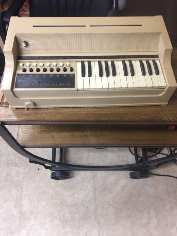 Rare Working Organaire Electric Keyboard Vintage Loose
