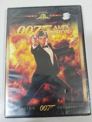 JAMES BOND 007 ALTA TENSION TIMOTHY DALTON DVD ESPAÑOL ENGLISH Nuevo -...