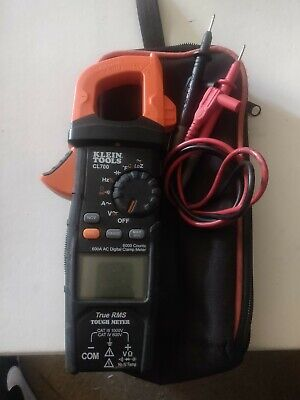 Klein Tools Multimeter Cl700 Voltage Ohm Resistor Test Clamp Meter Auto-ranging