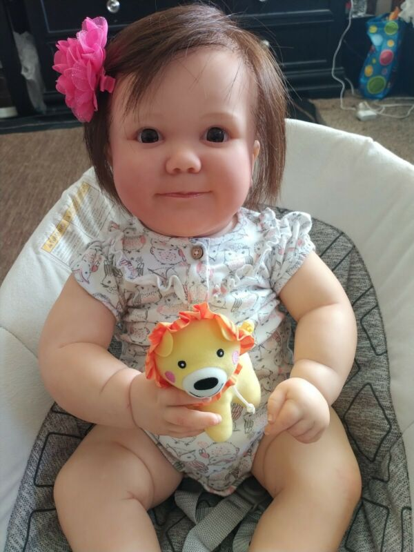 reborn baby girl doll reborn dolls June 7 Months