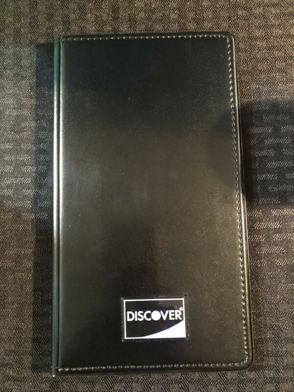NEW 14 PCS DOUBLE PANEL CHECK PRESENTER DISCOVER RESTAURANT SERVER BOOKS LOT