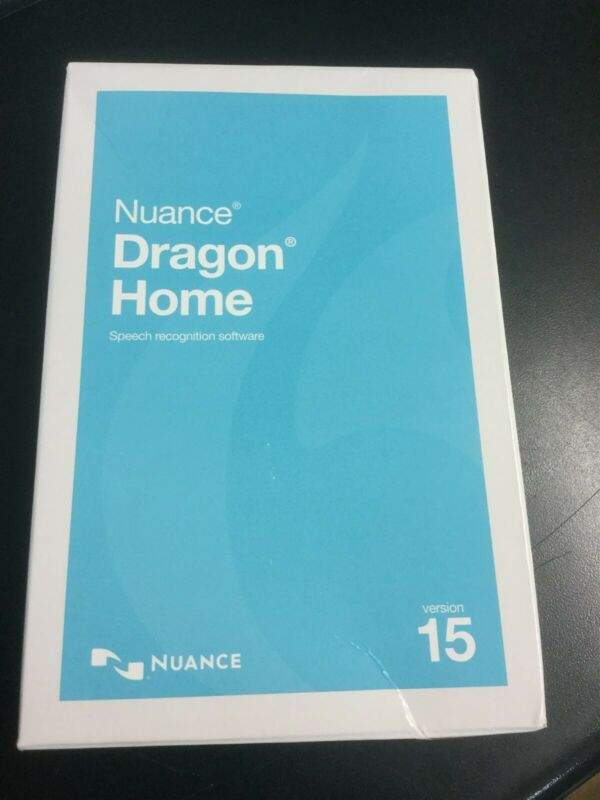 Nuance Dragon Home 15 Speech Recognition Software #2368