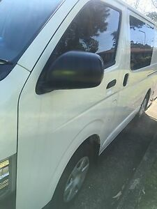 2016 TOYOTA HIACE CREW VAN 6 SEATER Carlingford The Hills District Preview