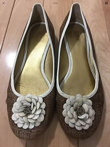 Tory Burch Ladies Shoes Flats Size 7.5