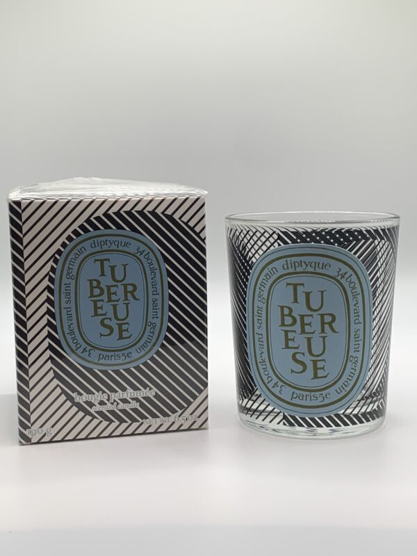 EMPTY Diptyque Limited Edition Tubereuse 6.5 oz Glass Jar with Original Box