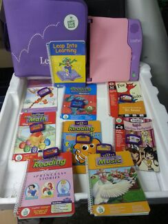 Leap pad learning system and accessories  North Tivoli Ipswich City Preview