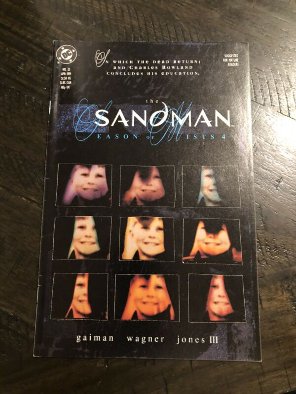 Sandman 25 1st Dead Boy Detectives 1st Print DC Vertigo Gemini Ship Gaiman
