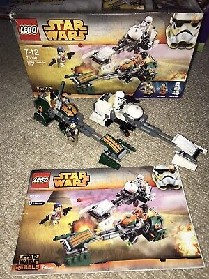Lego Star Wars Rebels - Ezra's Speeder Bike (75090) complete With Box/instr