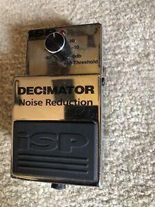 ISP decimator guitar pedal