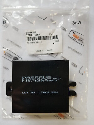 New Genuine Oem Kioti T2185-69875 Unit Display For Ck Dk And Ds Tractors