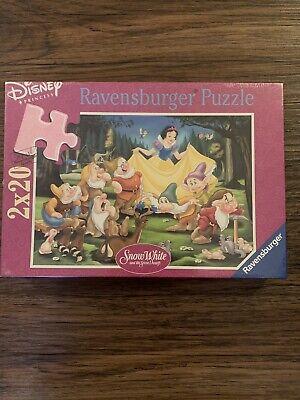 Ravensburger Disney Princess Snow White and 7 Dwarfs 2 X 20 Double Piece Puzzle