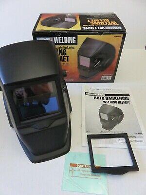 Chicago Electric Adjustable Shade Auto-darkening Welding Helmet 46092