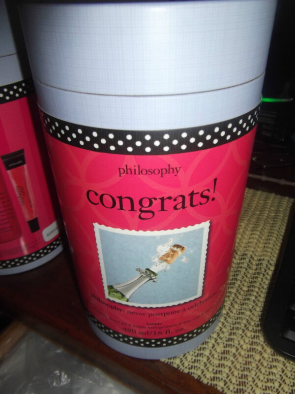 Philosophy Congrats Gift Set 16 oz Bubbly 3 in 1