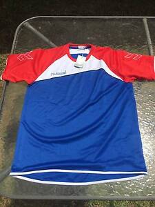 Hummel training shirt (red, white and blue) Jannali Sutherland Area Preview
