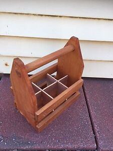 Wooden Beer Tote/Caddy