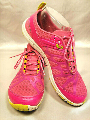 Merrell Crush Glove Pink Womens 8.5 J57320 Barefoot Running Shoes Cross Training