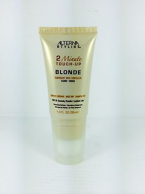Alterna Stylist 2 Minute Root Touch-up Blonde 30ml - A Temporary Concealer.
