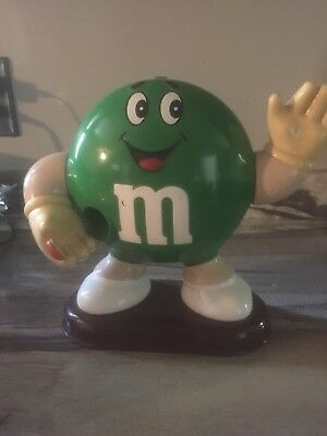 M&M's Green Peanut Big Boy Dispenser Extremely Rare, Collectible