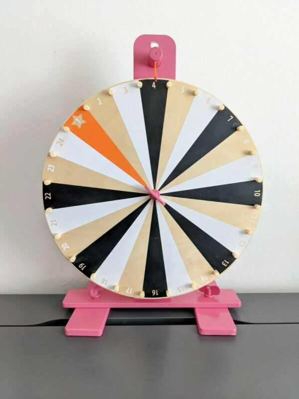IKEA LUSTIG Prize Wheel Game with PINK accents