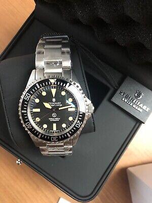 New Steinhart OCEAN One 1 Vintage Military Swiss ETA Automatic Diver Watch 42mm